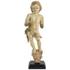 16th-17th Century Carved Italian Angel Figure