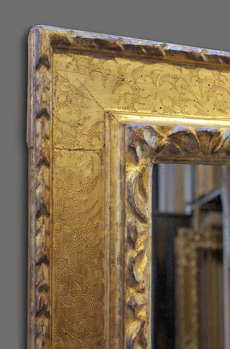 16th-17th Century Italian Carved Late Renaissance Frame