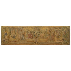 16th Century Brussels Mythological Tapestry, w/ the Allegory of Faith & Justice