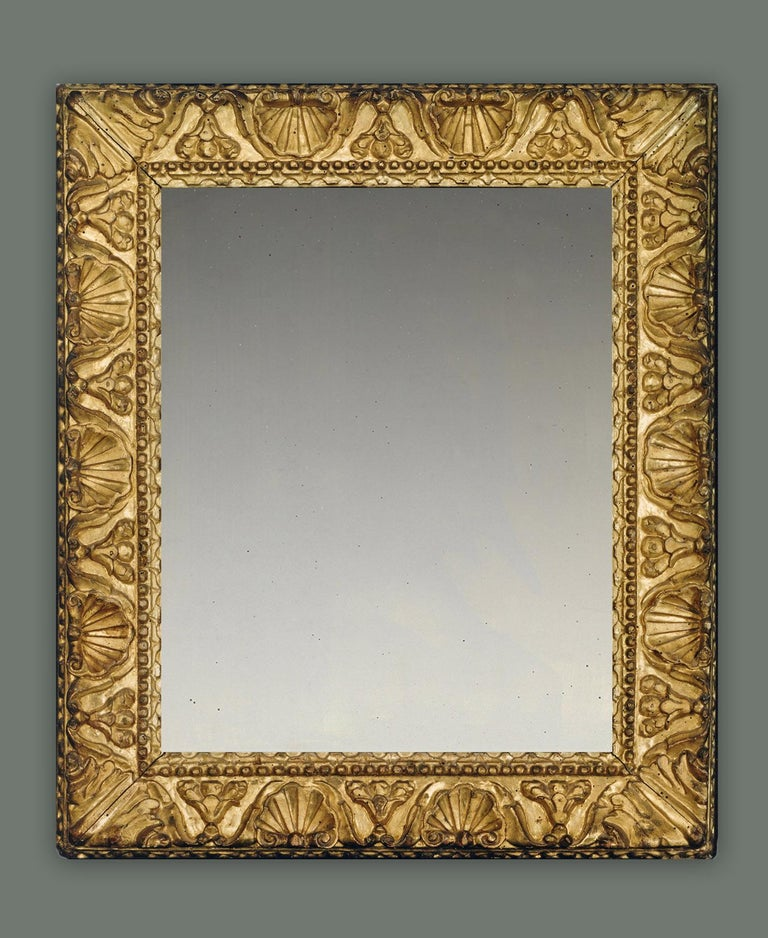 Italian 16th Century Carved Venetian Renaissance Frame, with Choice of Mirror For Sale