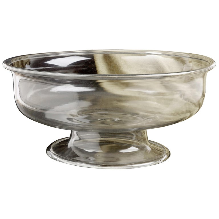 16th Century Clear Glass Venetian Bowl For Sale