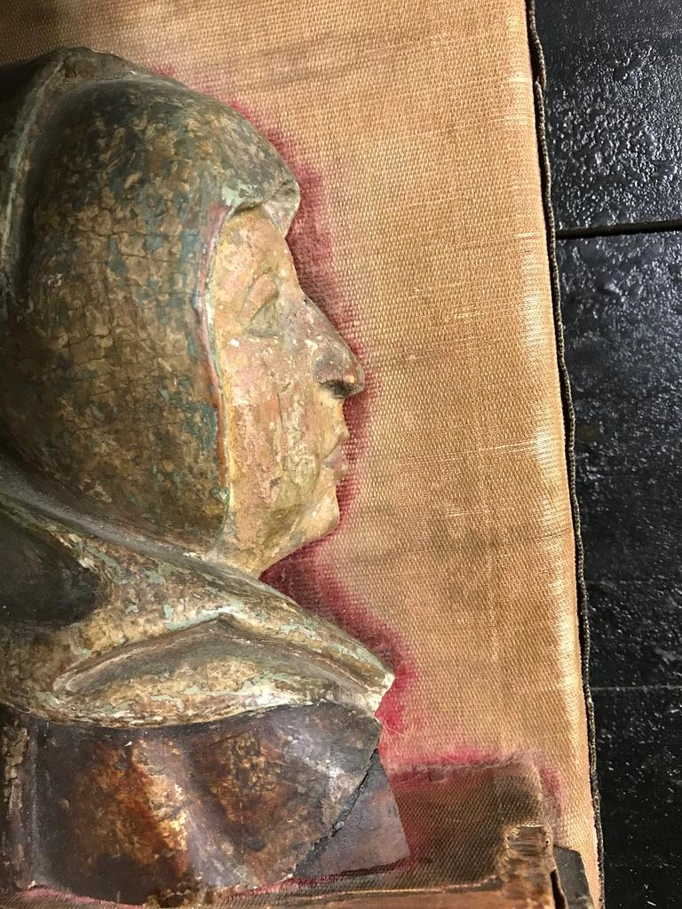 Renaissance 16th Century Flemish Carving of the Madonna For Sale