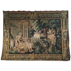 16th Century, Flemish Storied Wood Tapestry