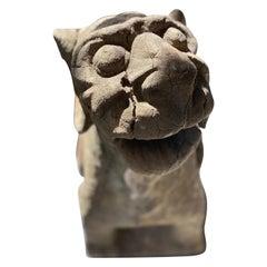 16th Century Late Gothic Limestone Gargoyle