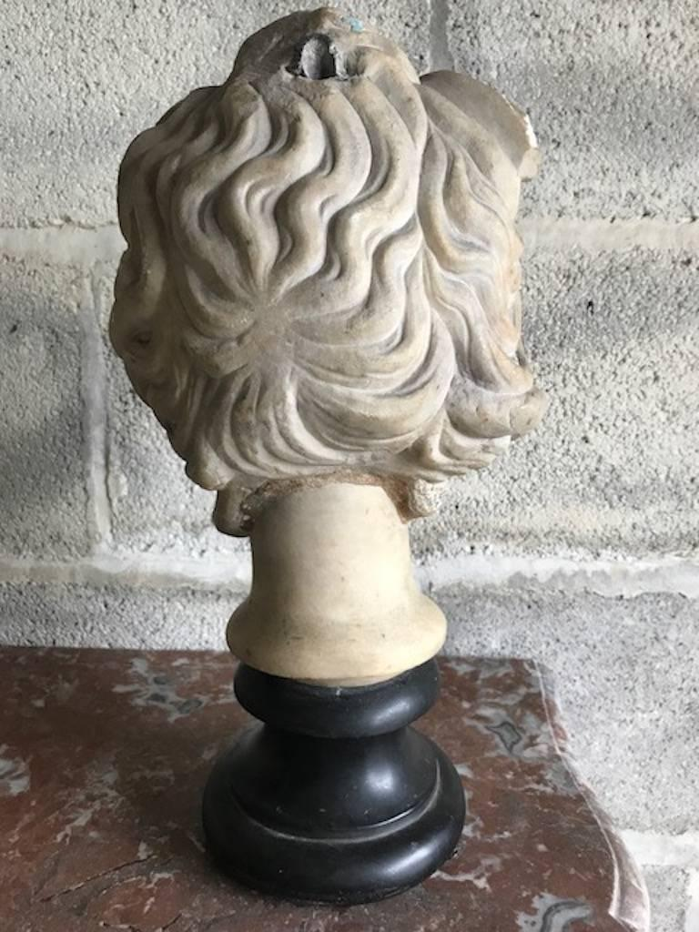 16th Century Medusa Marble Bust In Distressed Condition For Sale In Warminster , Wiltshire