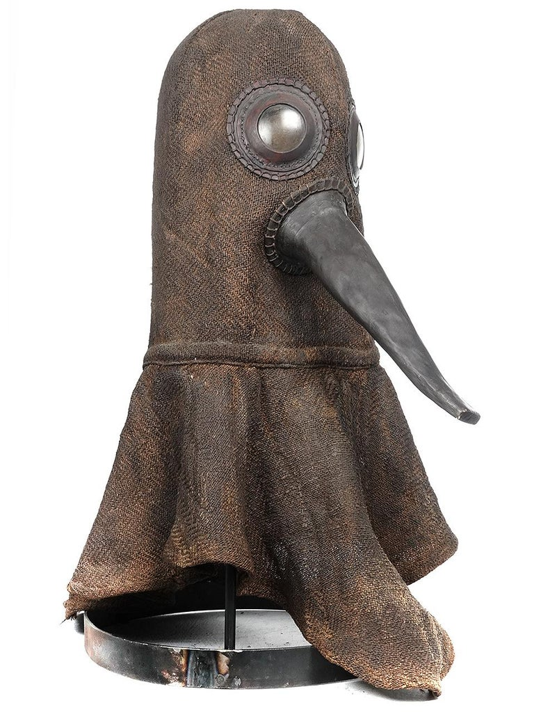 German 16th Century Plaque Helmet, One of a Kind Museum Display Model For Sale