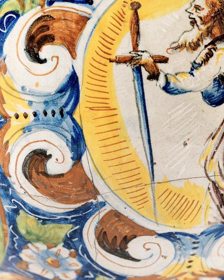 16th Century Renaissance Italian Maiolica Vase Venice, circa 1570  For Sale 8
