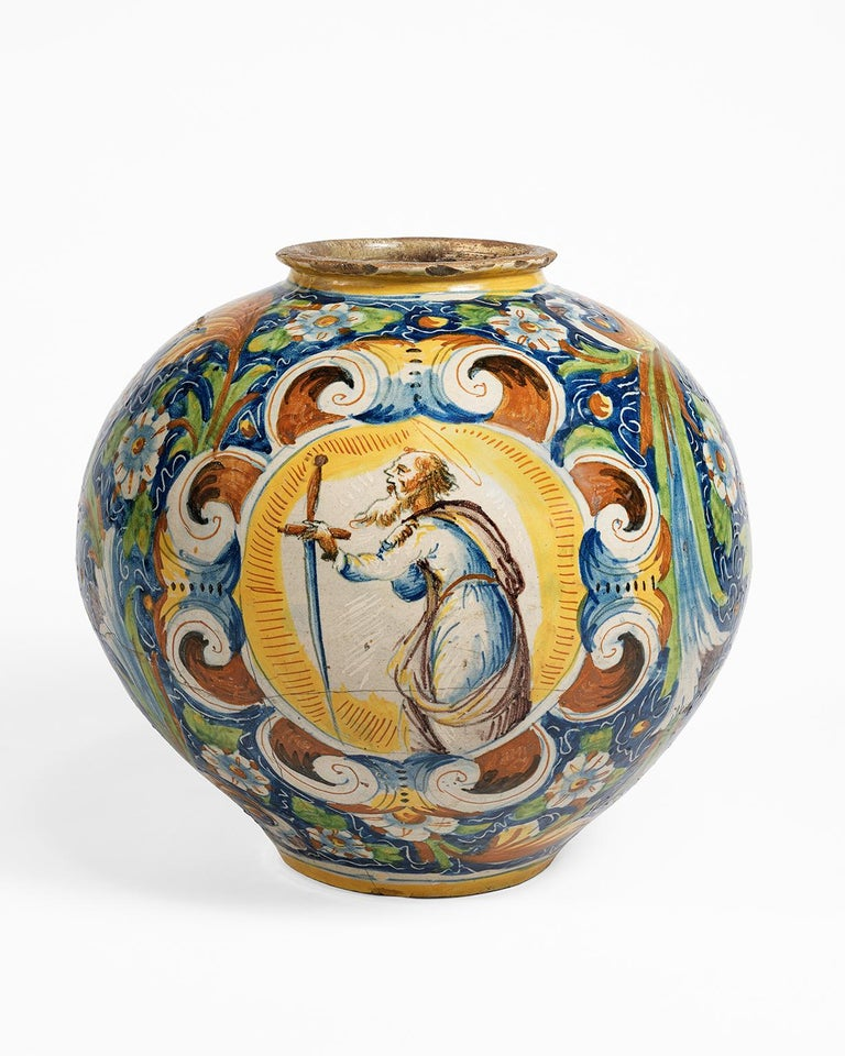 16th Century Renaissance Italian Maiolica Vase Venice, circa 1570  For Sale 10