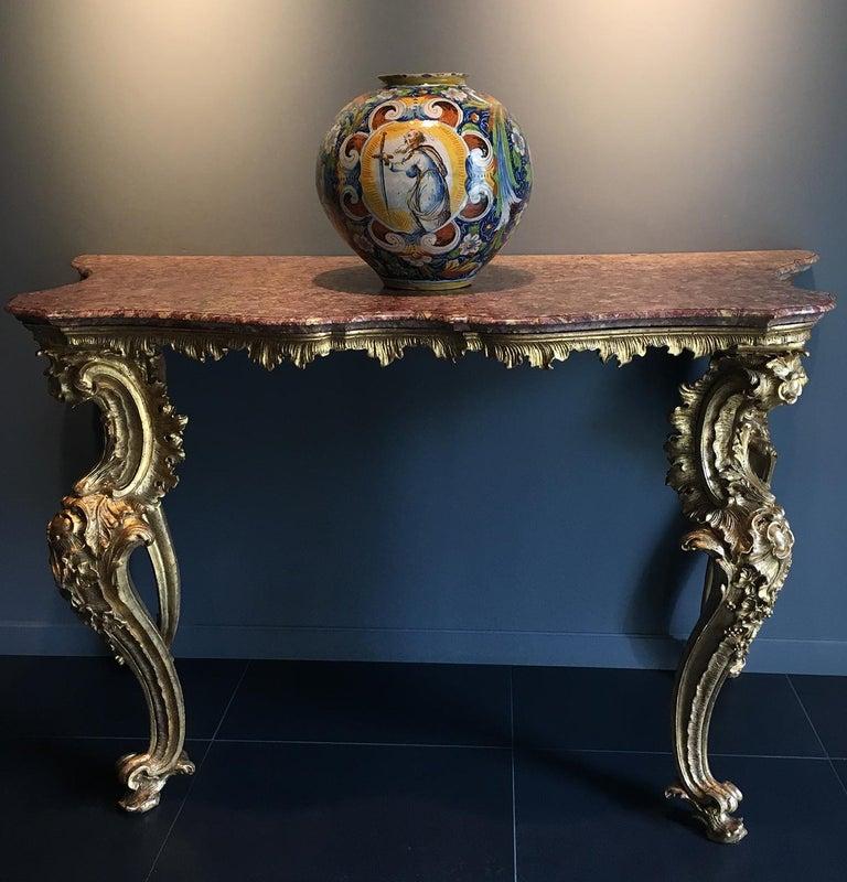 16th Century Renaissance Italian Maiolica Vase Venice, circa 1570  For Sale 11