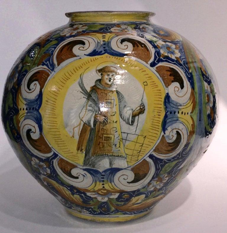 Globular vase (