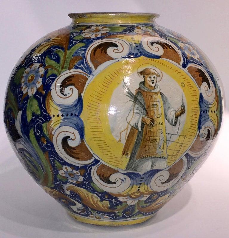 Other 16th Century Renaissance Italian Maiolica Vase Venice, circa 1570  For Sale