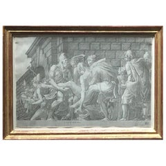 16th Century School of Fontainebleau Engraving