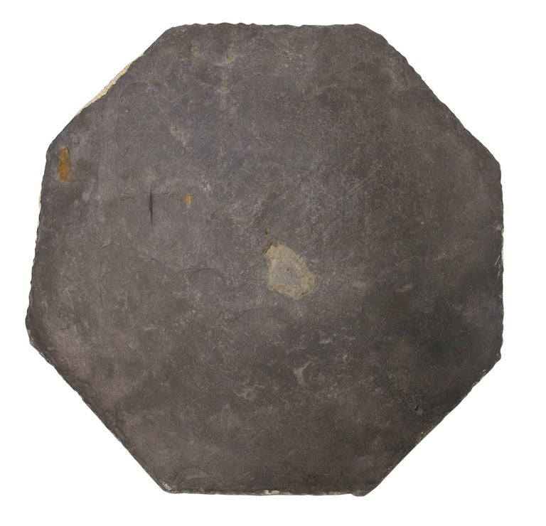 16th Century Slate Stone and Bronze Sundial For Sale 7