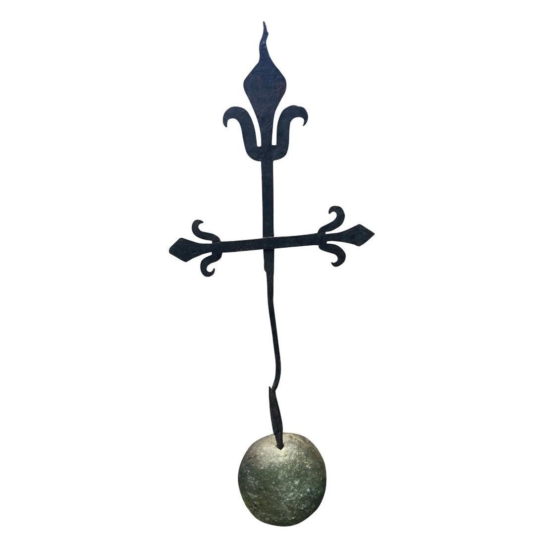 16th Century Spanish Iron Cross