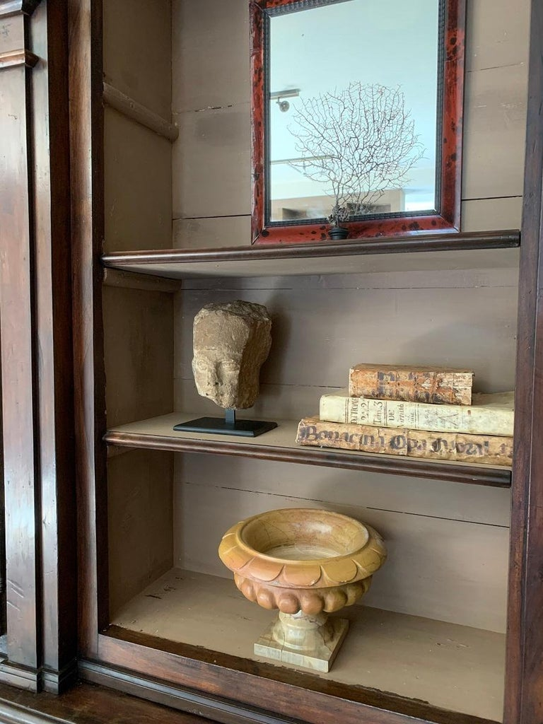 16th Century Stone Head In Good Condition For Sale In Vosselaar, BE