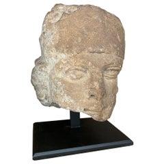 16th Century Stone Head