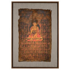 16th Century Tibetan Thangka Painting