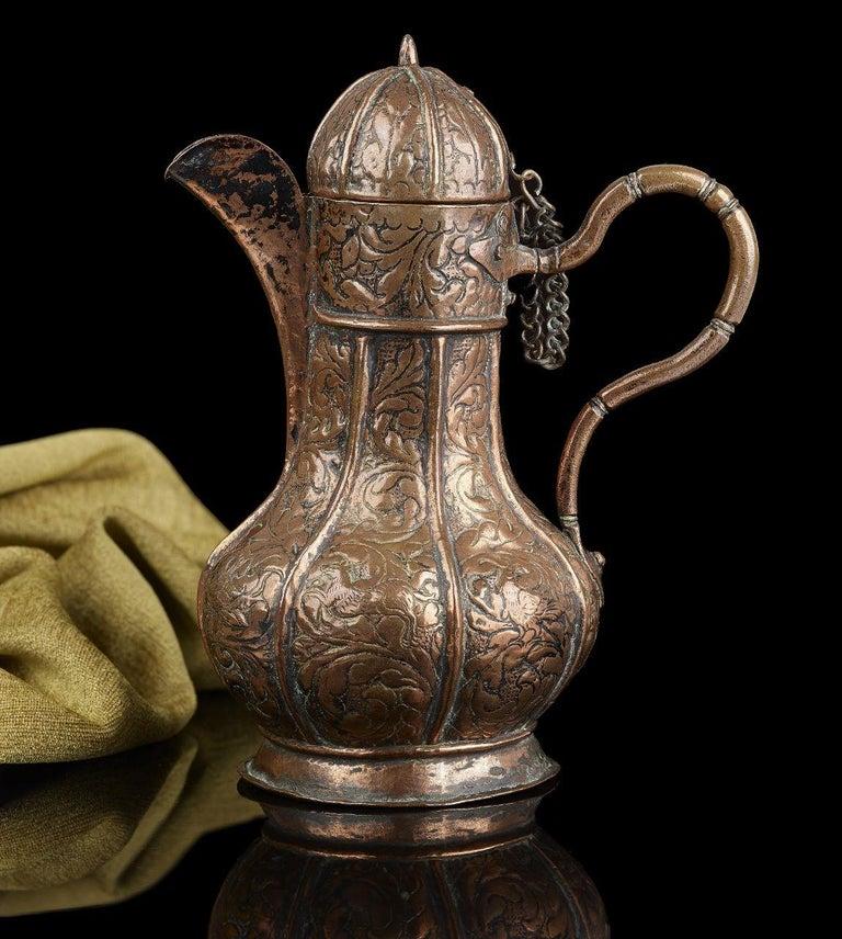 16th Century Venetian Copper Ewer In Good Condition For Sale In , STOURBRIDGE