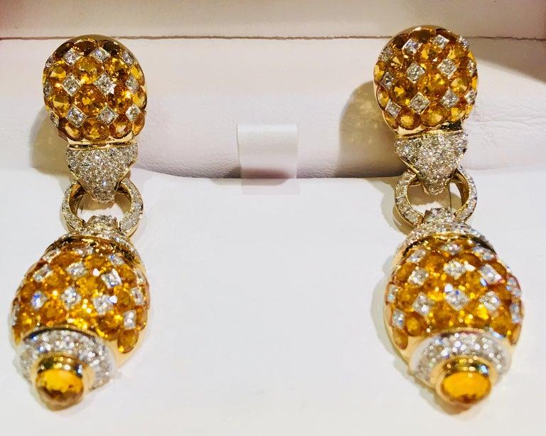 Magnificent 18 karat yellow gold
