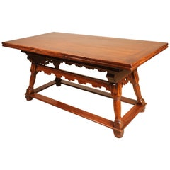 17th Century Extension Table from Switzerland