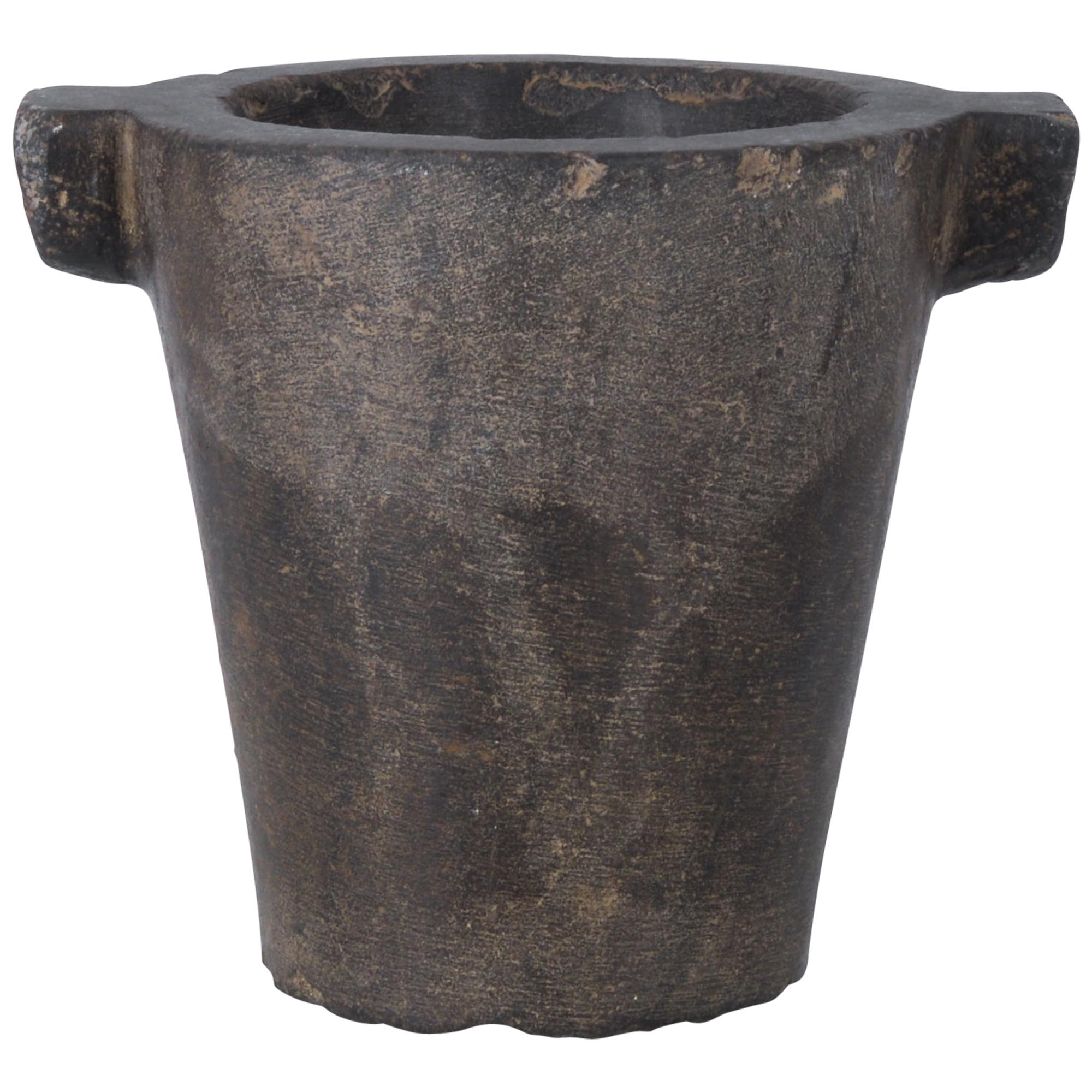 1700s Belgian Stone Mortar