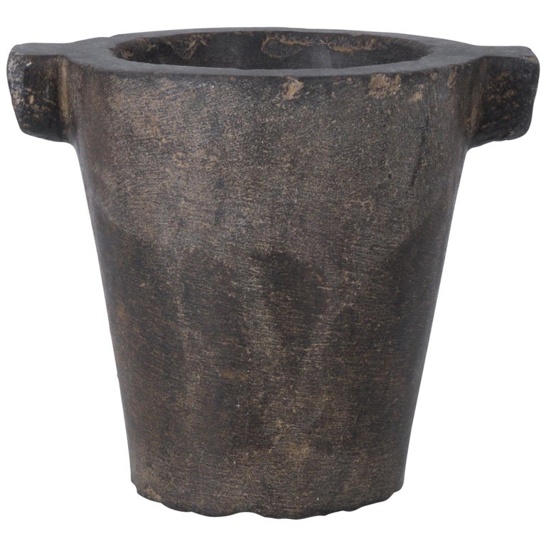 1700s Belgian Stone Mortar For Sale