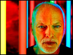 Portrait of Pink Floyd's David Gilmour