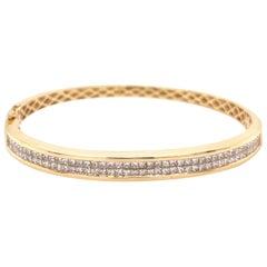1.75 Carat Diamond Bangle Bracelet