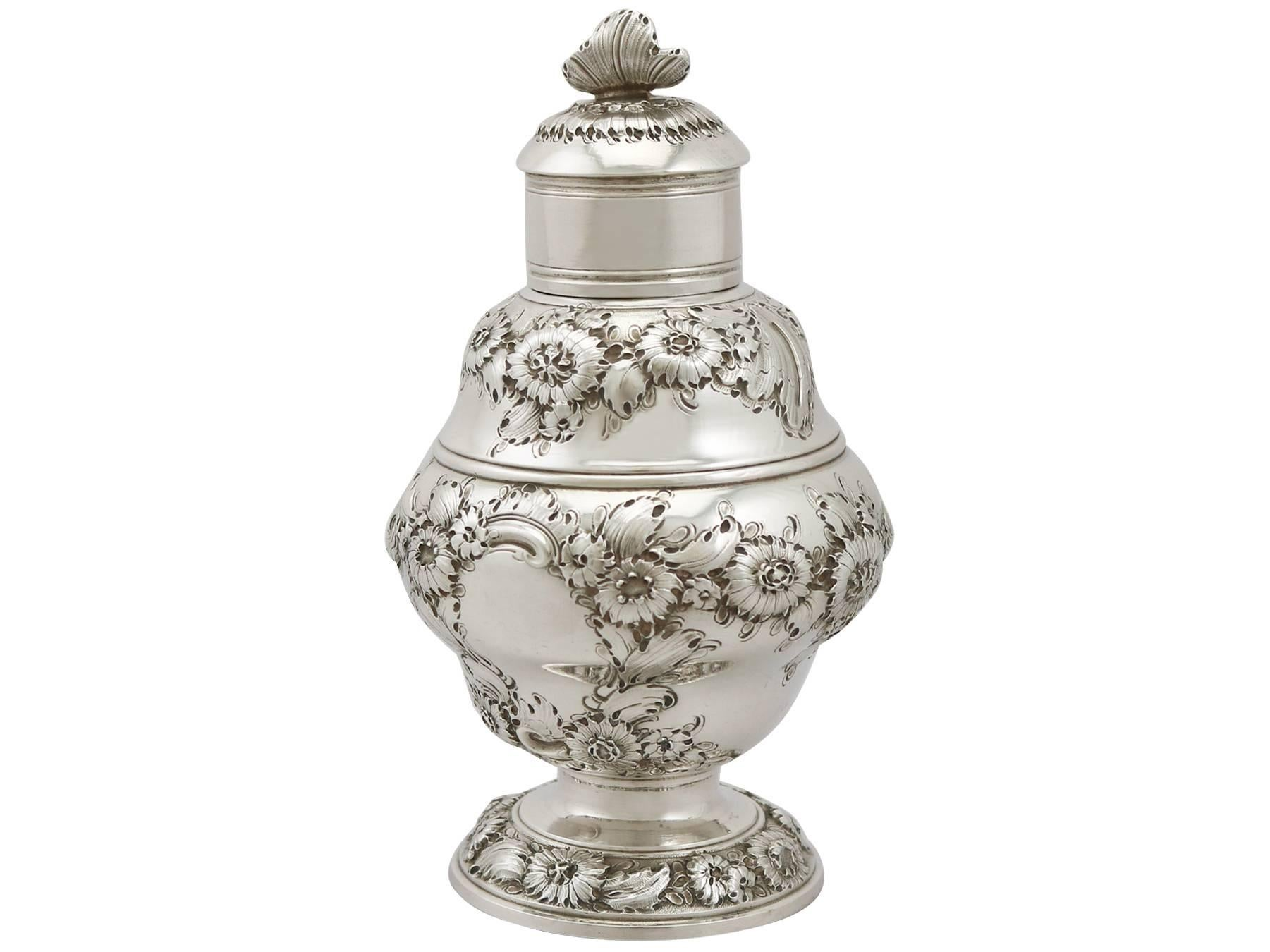 Trend Mark Vintage 1920s Bohemian Threaded Glass Round Lidded Box Attractive And Durable Glass Pottery & Glass