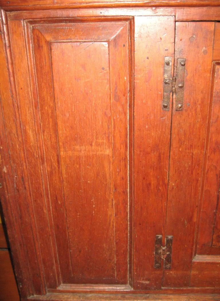 1770s Antique Farmhouse Pine Server Cabinet For Sale at ...