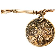 1787 Coin Watch Fob Antique