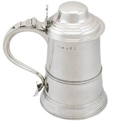 1788 Antique Sterling Silver Tankard