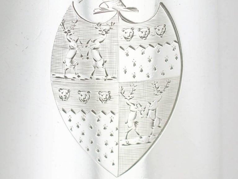 1790 Antique Georgian Sterling Silver Ladies Mug For Sale 1