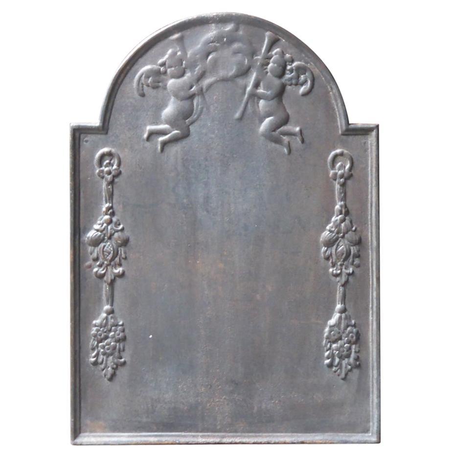 17th-18th Century Dutch 'Allegory of Peace' Fireback