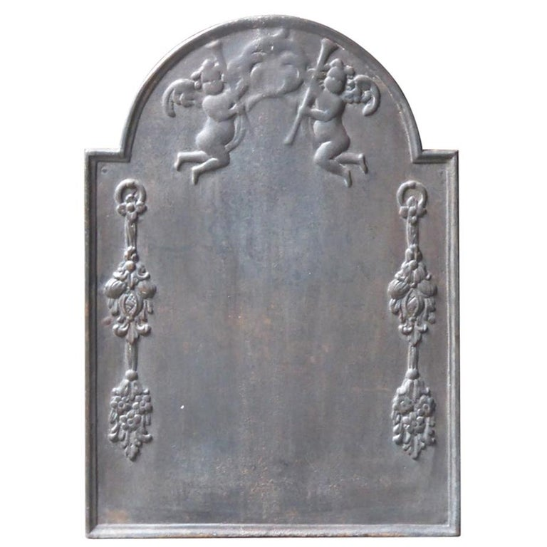 17th-18th Century Dutch 'Allegory of Peace' Fireback For Sale