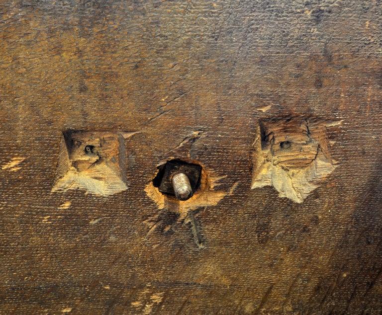 17th-18th Century English Jacobean Style Three-Drawer Oak Wood Dresser or Buffet 11
