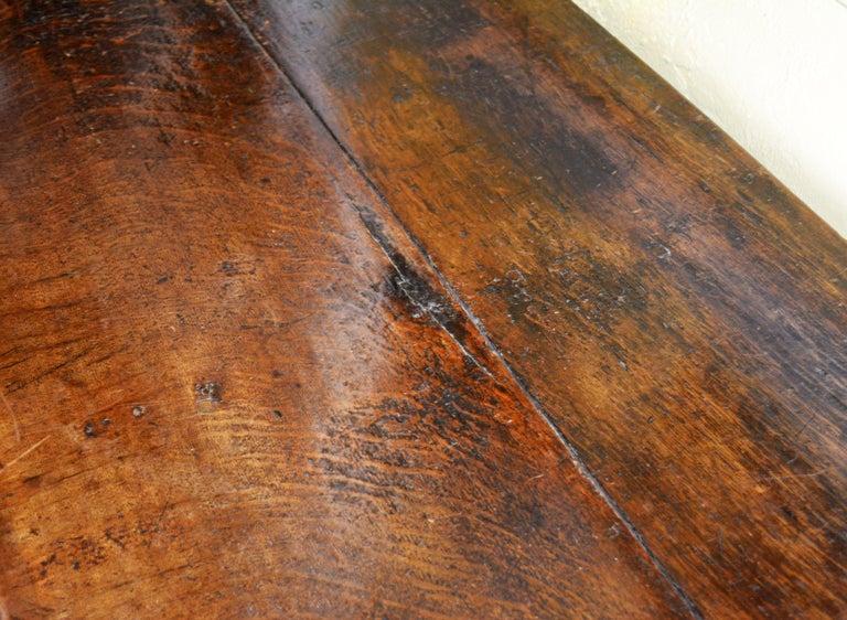 17th-18th Century English Jacobean Style Three-Drawer Oak Wood Dresser or Buffet 3