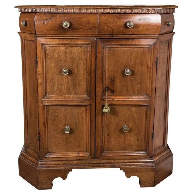 "17th Century, Italian ""High-Boy"" Style Cabinet"