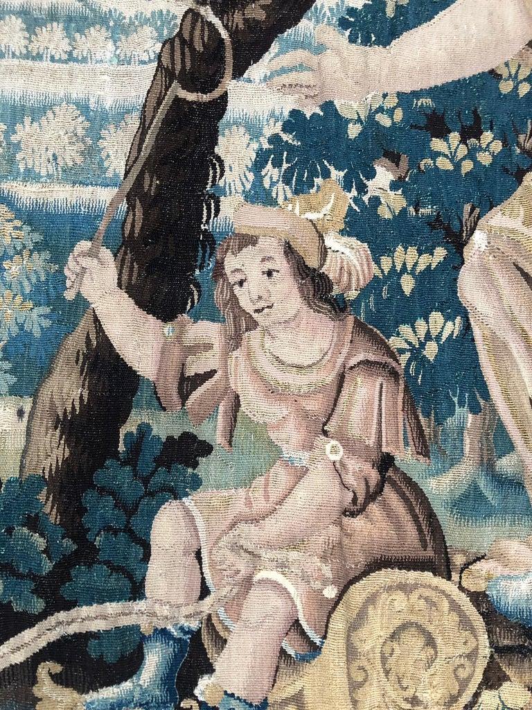 17th century mythological Aubusson tapestry