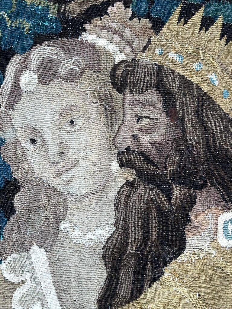 European 17th Century Mythological Aubusson Tapestry