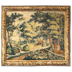 17th Century Antique Flemish Tapestry. 11 ft 3 in x 12 ft 8 in