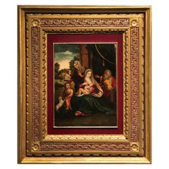 17th Century Antique Religious Painting