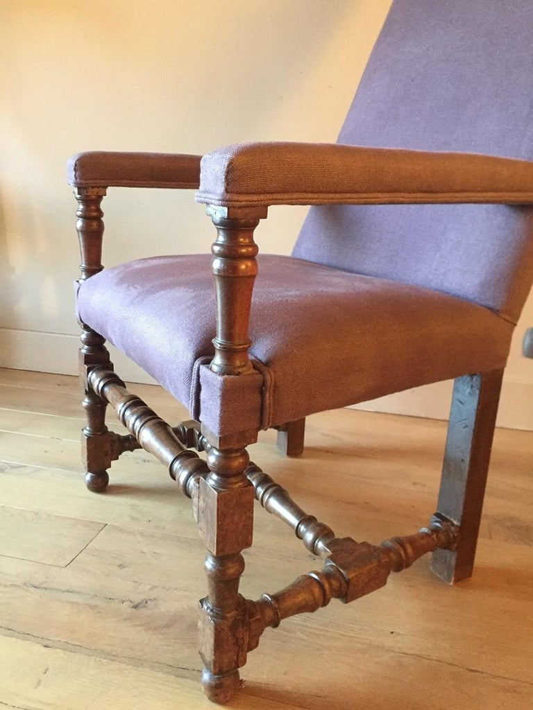 18th Century and Earlier 17th Century Armchair For Sale
