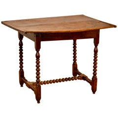 17th Century Bobbin-Turned Side Table