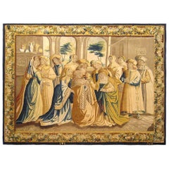 17th Century Brussels Mythological Tapestry