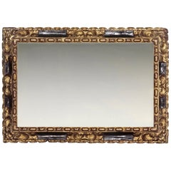 17th Century Carved Spanish Baroque Frame, with Choice of Mirror