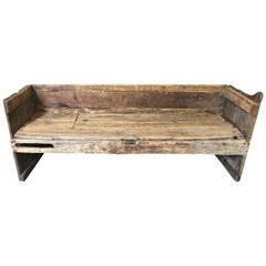 17th Century Catalan Bench