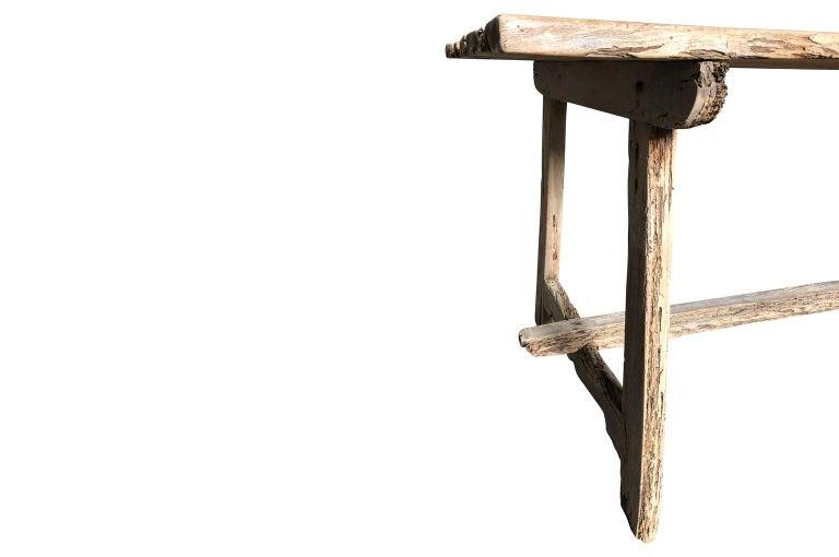 17th Century Catalan Farm Table For Sale 4