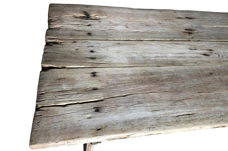 17th Century Catalan Farm Table For Sale 9
