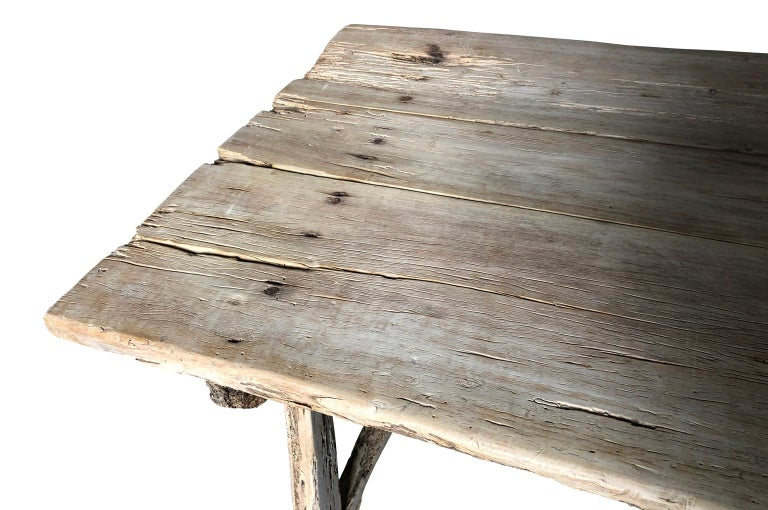 17th Century Catalan Farm Table For Sale 10
